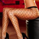 Sosete dama - STK206-1 Ciorapi cu chilot din plasa cu ochiuri mari