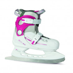 Patine copii Fila J-One ice HR white/pink