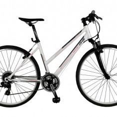 Bicicleta BMX - Bicicleta CROSS CONTURA 2866 - model 2015-Gri-Verde-Cadru 495 mm