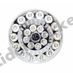 Bec/neon, Becuri economice - Bec economic cu 22 de led-uri si acumulator reincarcabil cu telecomand