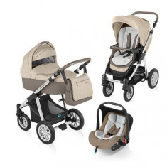 Baby Design Dotty 09 beige 2015 - Carucior 3 in 1 - Carucior copii Landou