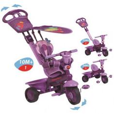 Tricicleta 3 In 1 Royal Violet - Tricicleta copii Fisher Price