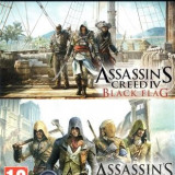 Assassins Creed Unity And Black Flag (Code) Xbox One