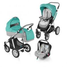 Baby Design Dotty 05 turquoise 2015 - Carucior 3 in 1 - Carucior copii Landou