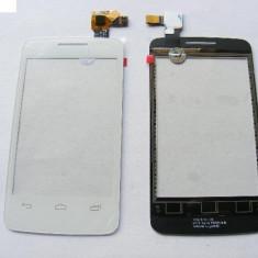 Geam cu Touchscreen Alcatel OT-3040 / Orange Dabi Alb Original - Touchscreen telefon mobil