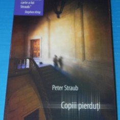 COPIII PIERDUTI - PETER STRAUB (05089 - Carte Horror