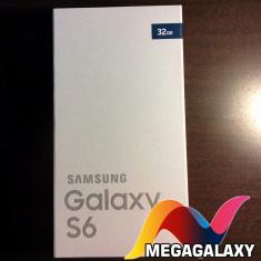 Telefon mobil Samsung Galaxy S6, Negru, 32GB, Neblocat - Samsung S6 Black/Negru MEGAGALAXY Factura Garantie 24 luni LIVRARE IMEDIATA