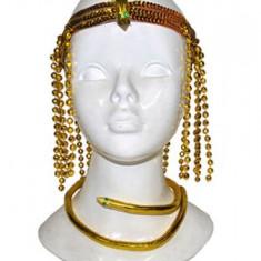 Bentita cap si colier CLEOPATRA - Costum petrecere copii
