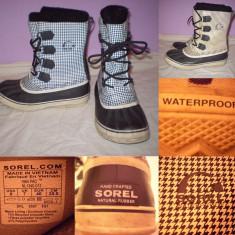 Cizme SOREL Waterproof (40) dama zapada iarna impermeabile ghete - Cizme dama, Culoare: Din imagine