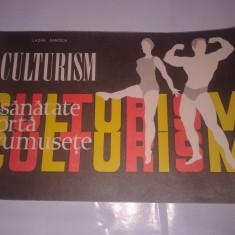 Carte despre Sport - LAZAR BAROGA - CULTURISM programe