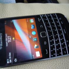 Telefon mobil Blackberry 9900, Negru, Neblocat - Blackberry Bold 9900, full, ca nou, liber retea, cadou