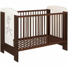 Patut lemn pentru bebelusi - Patut din lemn copii Kamil Venghe Kidcity