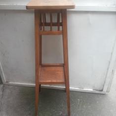 Suport vechi, german, din lemn masiv