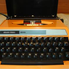 Masina de scris SILVER RED 200 JAPAN