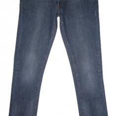 Blugi barbati Zara, Lungi, Prespalat, Slim Fit, Normal - Blugi ZARA SLIM FIT - (MARIME: 34) - Talie = 93 CM / Lungime = 114 CM