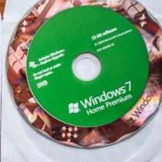 Sistem de operare - Microsoft Windows 7 Home Premium 32 bit English OEM SP1