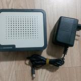 Receiver - Modem internet UPC - Thomson TCM 420 + alimentator 9V, 800 mA