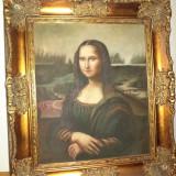 Tablou, Portrete, Ulei, Realism - Superb ulei pe panza cu rama Baroca de dimensiuni mari