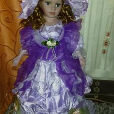 Papusa de colectie - Papusa portelan-Giselle-superba!!