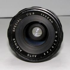Obiectiv Albinar 1:2.8 35mm montura M42 pentru piese sau reparat(64) - Obiective RF (RangeFinder)