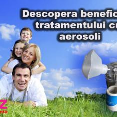 Aparat aerosoli copii Altele, Altele, Cu ultrasunete - Aparat aerosoli portabil cu ultrasunete nebulizator inhalator silentios sigilat