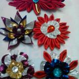 Vand accesorii, flori facute dindiferite materiale, homemade, Culoare: Din imagine