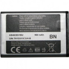 Baterie telefon, Li-ion - Acumulator Samsung M7603 cod: AB463651B / AB463651BA / AB463651BE / AB463651BEC / AB463651BU
