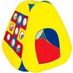 Casuta/Cort copii - Cort copii cu gauri pentru sortarea bilelor pe culori