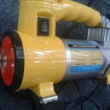 Compresor Auto priza bricheta masina de umflat roti mingii saltele - Bricheta Auto