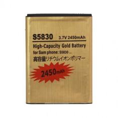 Baterie telefon - Acumulator De Putere Samsung Galaxy Ace S5830 S5660 S5670 S7500 2450mAh