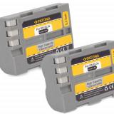 PATONA   2 Acumulatori compatibili Nikon EN-EL3e ENEL3e D50 D70s D80 D100 D200