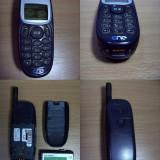 Mitsubishi Trium Mars MT-050 - 2 telefoane de colectie functionale, poze reale, Nu se aplica, Neblocat, Fara procesor
