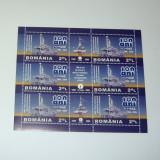 Colita stampilata - Aniv. 100 deani - Romgaz - 2009 - 2+1 gratis toate produsele la pret fix - RBK7725 - Timbre Romania