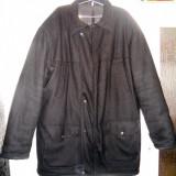 Scurtă de iarnă din lână FACIBA - Marimea 54 (XXL) - Fabricată în ROMANIA - Geaca barbati, Culoare: Negru