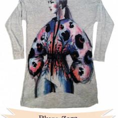 Bluza Zara, S, 70 lei - Bluza dama Zara, Marime: S, Culoare: Din imagine, Maneca 3/4, Casual