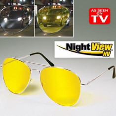 Optica medicala - Ochelari pentru condus noaptea Night View utili pt noapte si zi, uv