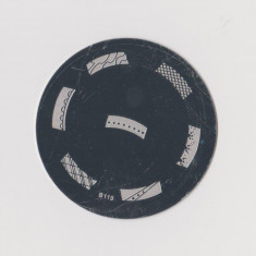 Unghii cu modele - Matrita metalica pt modele unghii, pt stampila, disc matrita metal, model B119