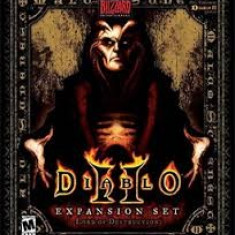 + Joc original SIGILAT - Diablo 2 Lords of Destruction (Expansion set) + - Jocuri PC Altele, Role playing, 12+