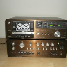 Deck audio - Casetofon Deck Dual C 820 si amplificator Dual CV 1700