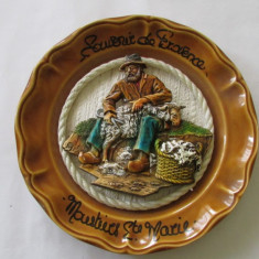 APLICA-TUNSUL OILOR-ceramica emailata, pictata manual- - Arta Ceramica