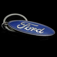 Breloc auto nou logo Ford inox si cutie simpla cadou