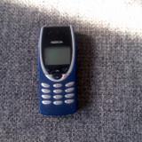 Telefon Nokia, Albastru, Nu se aplica, Neblocat, Single SIM, Fara procesor - Nokia 8210 blue folosit stare buna, incarcator original in orice rt!PRET:200ron