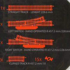 Sine ho - lot (aproximativ) 60 buc + 5 macaze + variator + locomotiva / F454