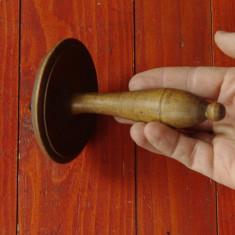 Ciuperca veche din lemn pentru croitorie - reparat ciorapi - de colectie !!!