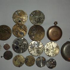 Ceas de buzunar - MECANISME CEASURI BUZUNAR FOARTE VECHI