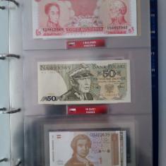 Colectie de monede si bancnote bani de pe mapamond