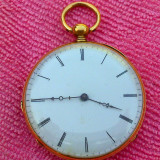Mermod Frères - Aur masiv de 18K - Ceas de buzunar