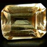 Topaz imperial finut emerald cut! ideal ptr inel sau pandantiv!!