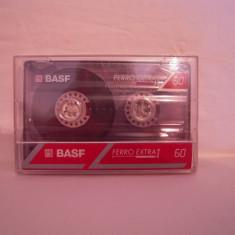 Vand caseta audio BASF-Ferro Extra I-60, originala, raritate!