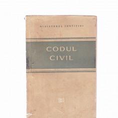 Carte Drept civil - CODUL CIVIL